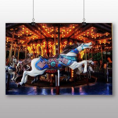 Big Box Art Carousel Horse No.3 Photographic Print