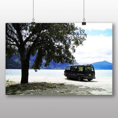 Big Box Art Camper Van No.1 Photographic Print