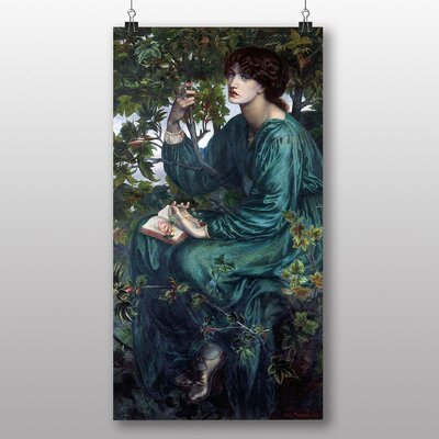 Big Box Art 'The Day Dream' by Dante Gabriel Rossetti Art Print