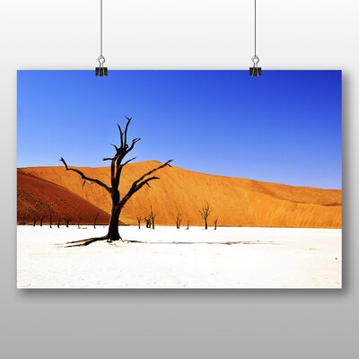 Big Box Art Desert Namibia No.3 Photographic Print on Canvas