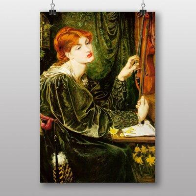 "Big Box Art ""Veronica Veronese"" by Dante Gabriel Rossetti Art Print"