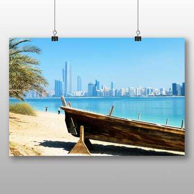 Big Box Art Dubai Beach Photographic Print