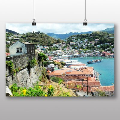 Big Box Art Caribbean Dominica Photographic Print Wrapped on Canvas
