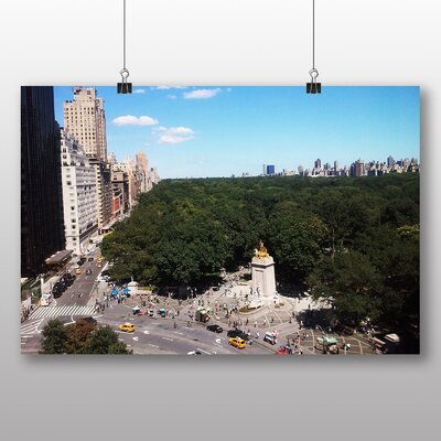 Big Box Art Central Park New York USA Photographic Print Wrapped on Canvas