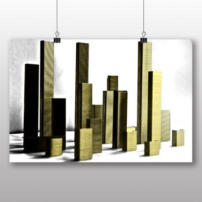Big Box Art City Skyline Abstract No.2 Graphic Art