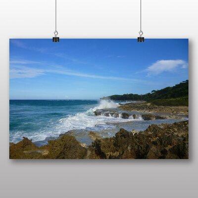 Big Box Art Dominican Republic Landscape Photographic Print Wrapped on Canvas