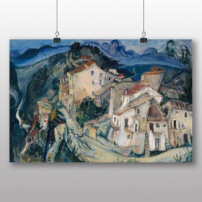 Big Box Art 'View of Cagnes' by Chaim Soutine Art Print