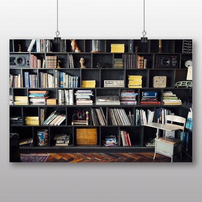Big Box Art 'Bookshelf' Photographic Print