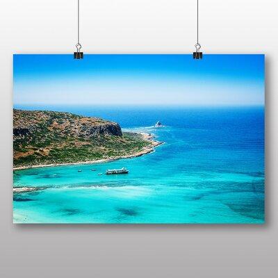 Big Box Art Crete Greece Photographic Print