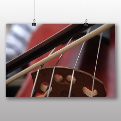 Big Box Art Cello Instrument No.2 Photographic Print Wrapped on Canvas