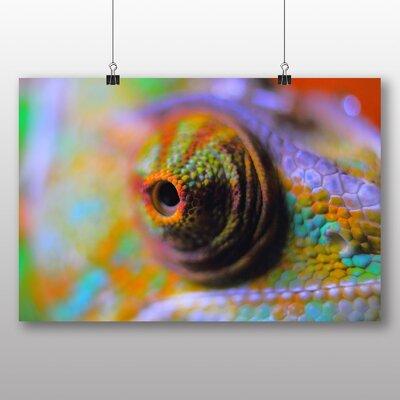 Big Box Art Chameleon Lizard No.3 Photographic Print