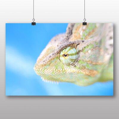 Big Box Art Chameleon Photographic Print Wrapped on Canvas