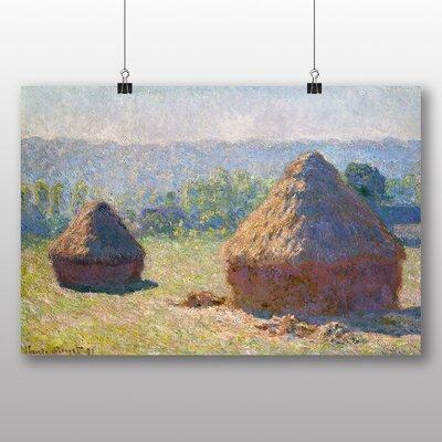 Big Box Art 'Haystacks' by Claude Monet Art Print