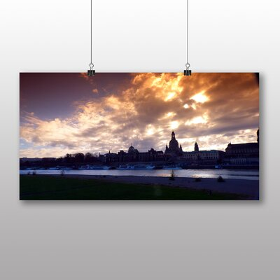 Big Box Art Dresden Germany No.2 Photographic Print Wrapped on Canvas
