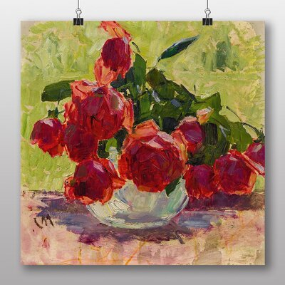 Big Box Art 'Roses' by Carl Moll Art Print