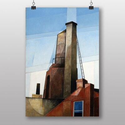 "Big Box Art ""Buildings"" by Charles Demuth Art Print"