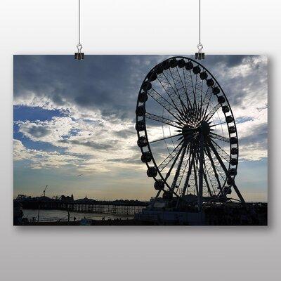 Big Box Art Brighton Ferris Wheel Photographic Print