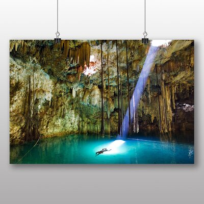 Big Box Art Cave Sunlight Photographic Print