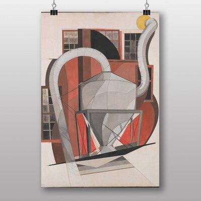 "Big Box Art ""Machinery"" by Charles Demuth Art Print"