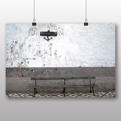 Big Box Art Bench Graphic Art Wrapped on Canvas