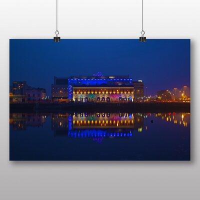 Big Box Art 'Dublin City at Night No.2' Photographic Print