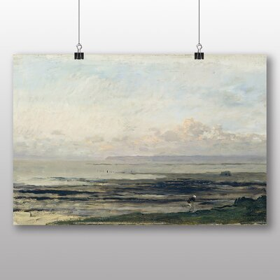 Big Box Art 'Woman by the Water' by Charles Francois Daubigny Art Print