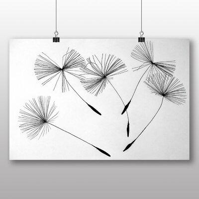 Big Box Art Dandelion Seeds Flower No.1 Graphic Art