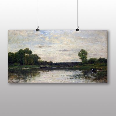 Big Box Art Landscape No.7' by Charles Francois Daubigny Art Print