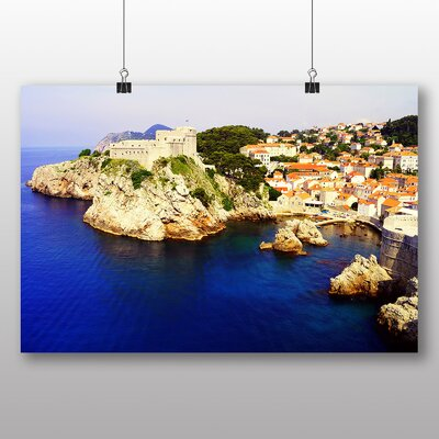 Big Box Art Dubrovnik Croatia No.1 Photographic Print on Canvas