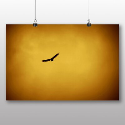 Big Box Art Eagle Sunset Graphic Art on Canvas