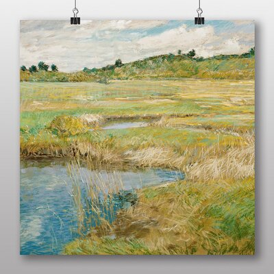 Big Box Art 'The Concord Meadow' by Childe Hassam Art Print