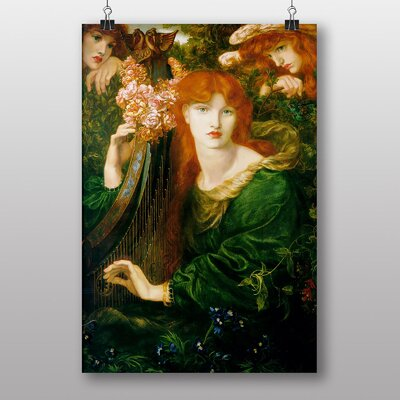 Big Box Art La Ghirlandata by Dante Gabriel Rossetti Art Print