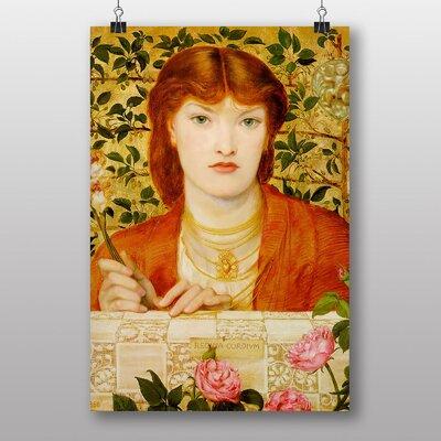 Big Box Art Alice Wilding by Dante Gabriel Rossetti Art Print