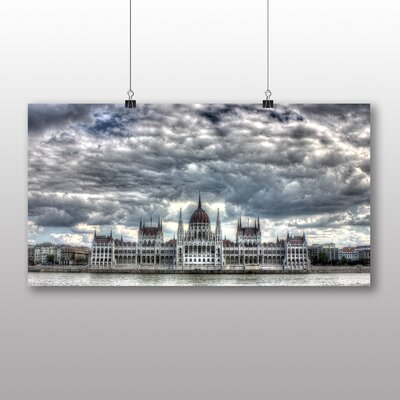 Big Box Art Budapest Hungary Parliament Photographic Print on Canvas