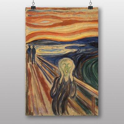 Big Box Art The Scream by Edvard Munch Art Print