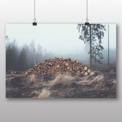 Big Box Art 'Chopped Wooden Logs' Photographic Print
