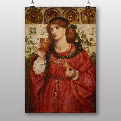 Big Box Art The Loving Cup by Dante Gabriel Rossetti Art Print
