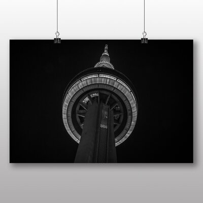 Big Box Art CN Tower Toronto Canada No.3 Photographic Print on Canvas