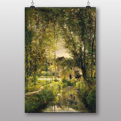Big Box Art Landscape No.5 by Charles-Francois Daubigny Art Print