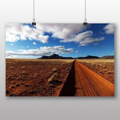 Big Box Art Desert Namibia No.5 Photographic Print Wrapped on Canvas