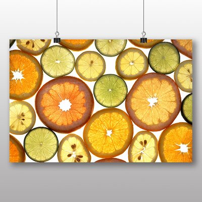 Big Box Art Citrus Fruits Photographic Print Wrapped on Canvas