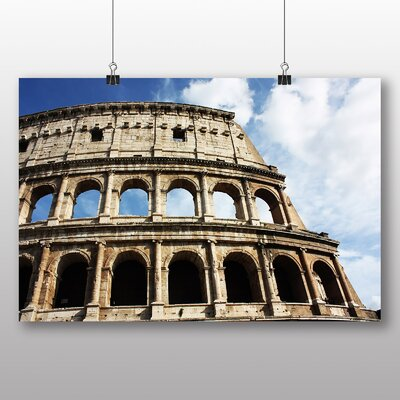 Big Box Art Coliseum Rome Italy No.2 Photographic Print Wrapped on Canvas