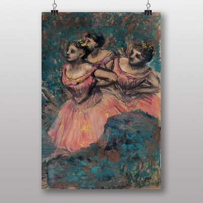 "Big Box Art ""Three Dancers"" by Edgar Degas Art Print"