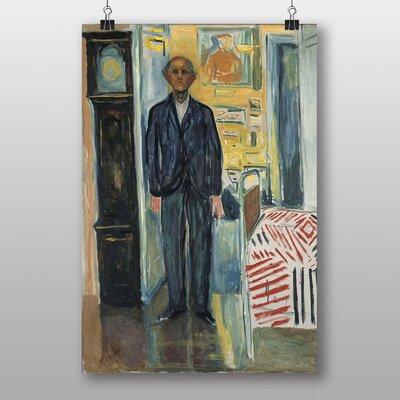 "Big Box Art ""Self Portrait No.2"" by Edvard Munch Art Print"