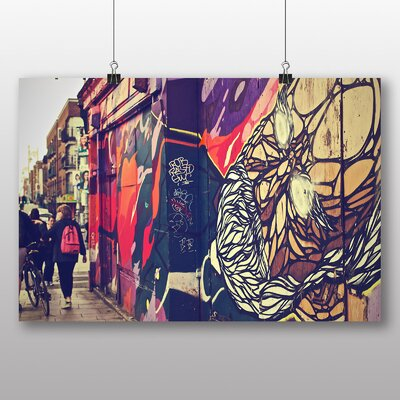 Big Box Art 'City Graffiti' Photographic Print