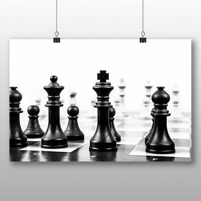 Big Box Art Chess Board No.2 Photographic Print on Canvas