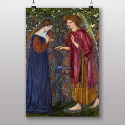 "Big Box Art ""The Annunciation"" by Edward Burne-Jones Art Print"