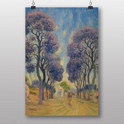 "Big Box Art ""The Road Under Trees"" by Claude Emile Schuffenecker Art Print"