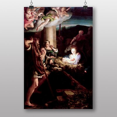 "Big Box Art ""The Holy Night"" by Correggio Art Print"