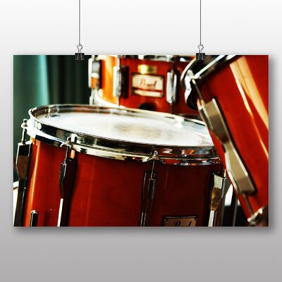 Big Box Art Drum Kit Photographic Print